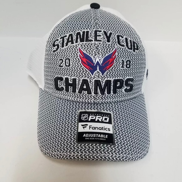 Brand new 2018 Washington Capitals Stanley Cup Hat NWT